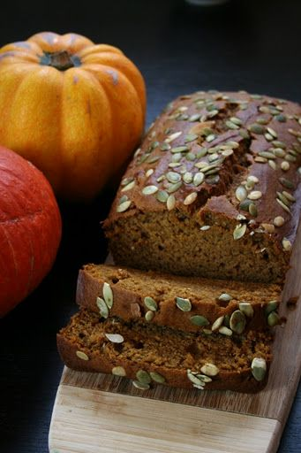 Olive oil pumpkin bread | bread | Pinterest