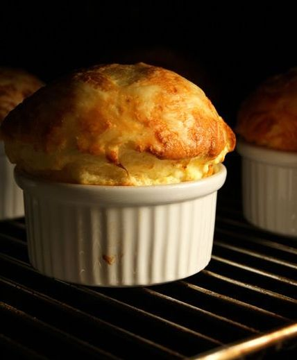 how to make cheese soufflés at home