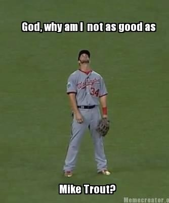 Mike Trout Funny Memes