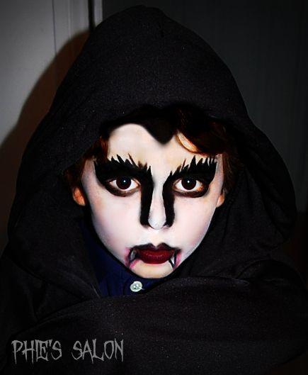 Halloween kids vampire face paint : Makeup / Hair : Pinterest