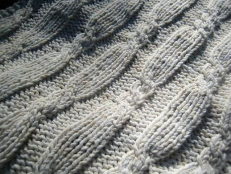 knit cables | Knitting - afghans, throws, blankets | Pinterest