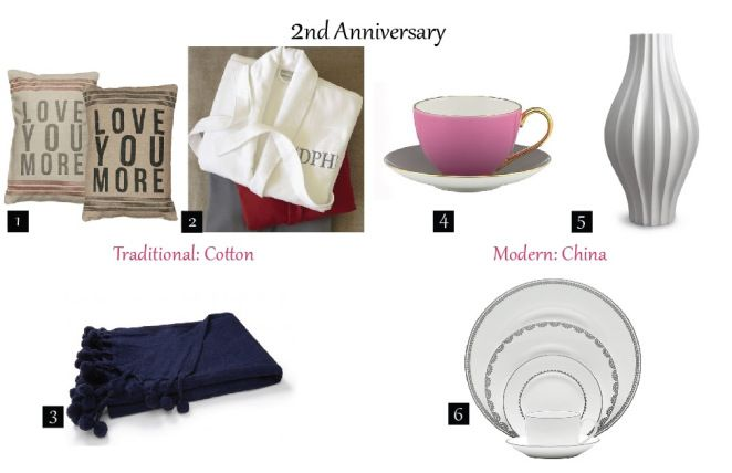 2nd Wedding Anniversary Gifts For Him Modern : 2nd anniversary traditional and modern gift ideas The Suite Life ...
