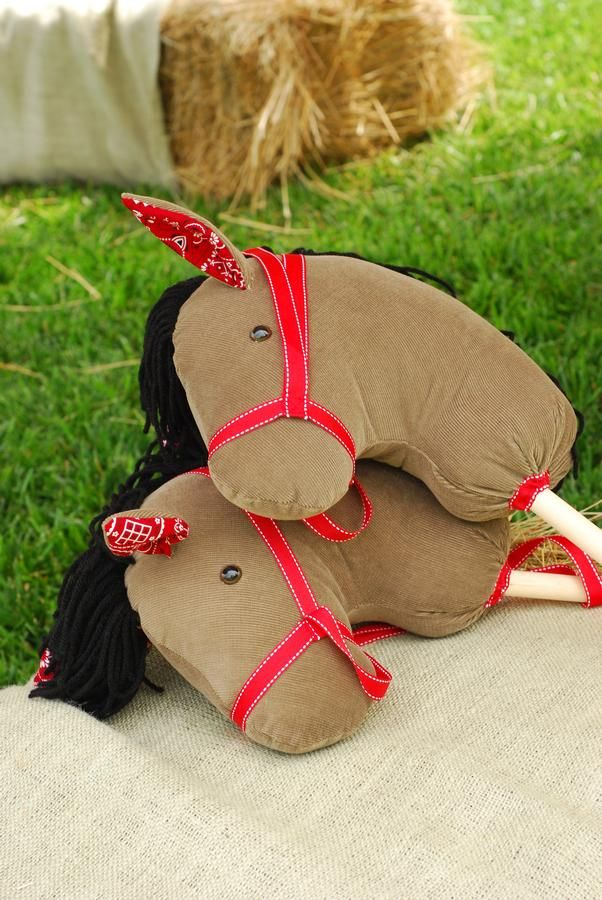 DIY Stick Horse Idea