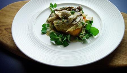 Simon Rimmer's Tarragon And Pancetta Mushrooms Recipes — Dishmaps