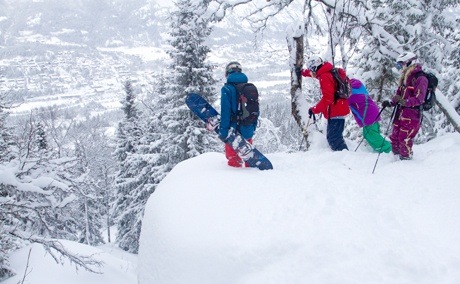 Off piste in Hemsedal.  Where i need to be