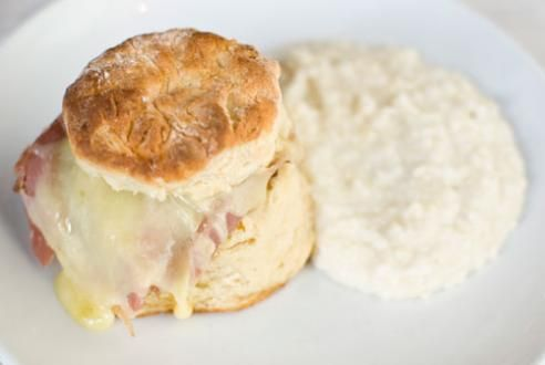 Country Ham Biscuit | Thank God I'm From the South | Pinterest