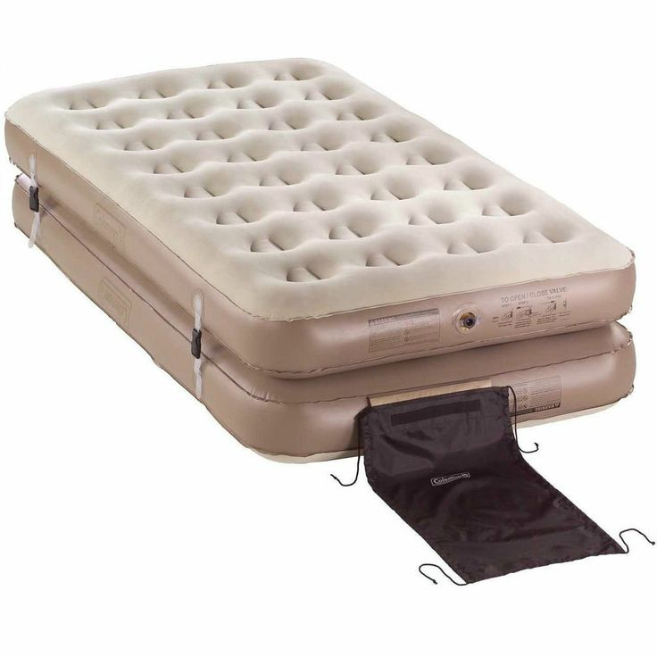 Coleman 4 in 1 inflatable camping air mattress quickbed