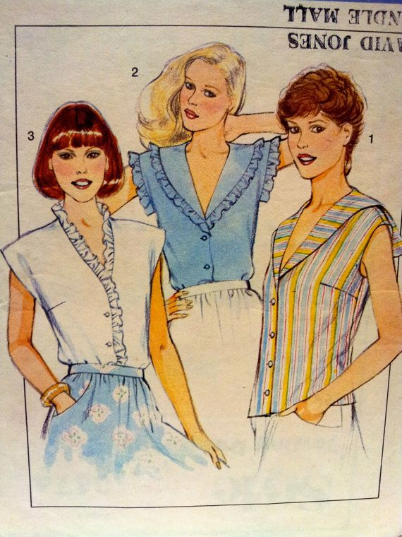 Misses Frilly Blouses 52