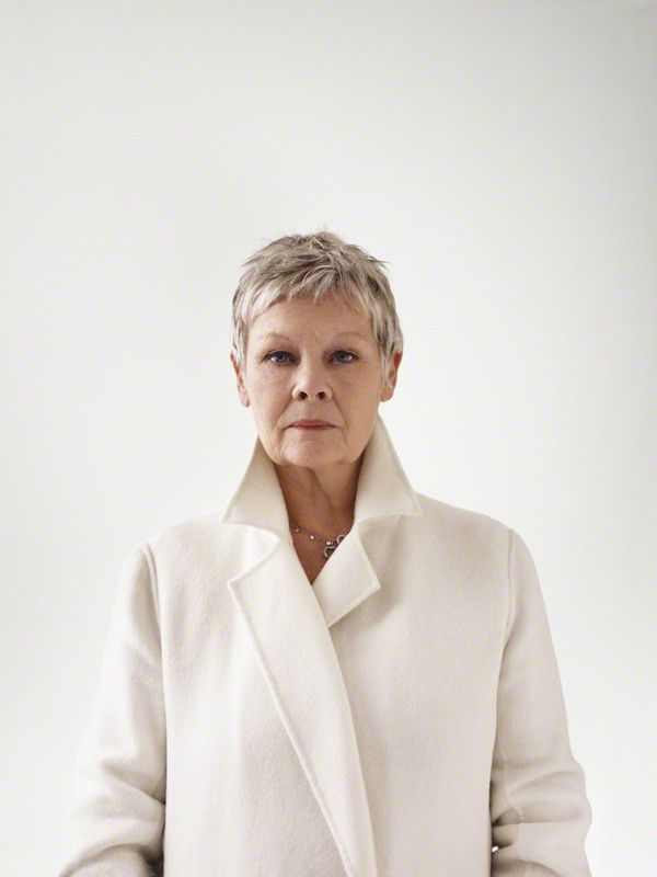 Judi Dench, she's who I aspire to be as an actress; although no one ...