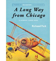 book review on a long way from chicago