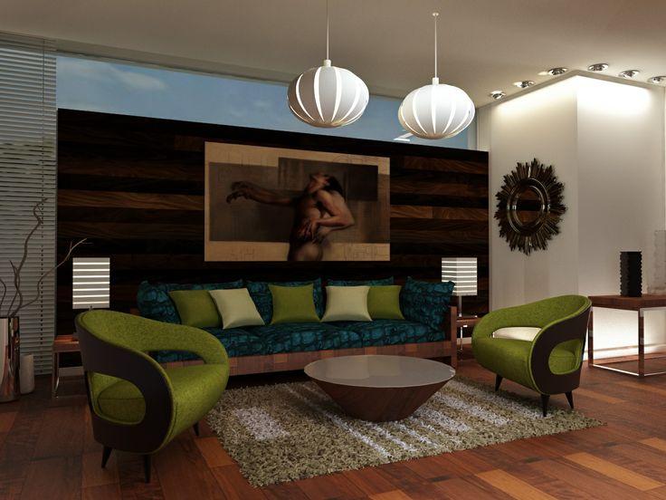 Living Room Design Decoraci N Interiores Pinterest
