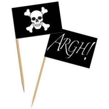 pirate flag toothpicks