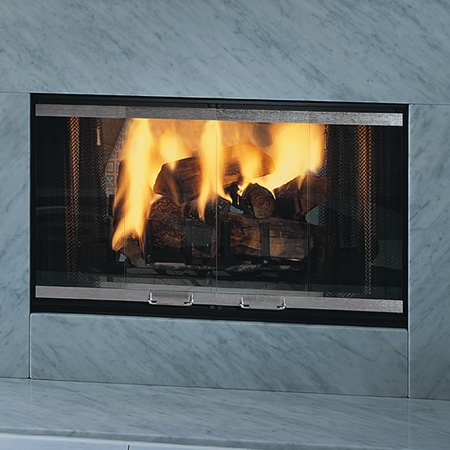Monessen designer see through wood burner fireplace 36 for See thru fireplace