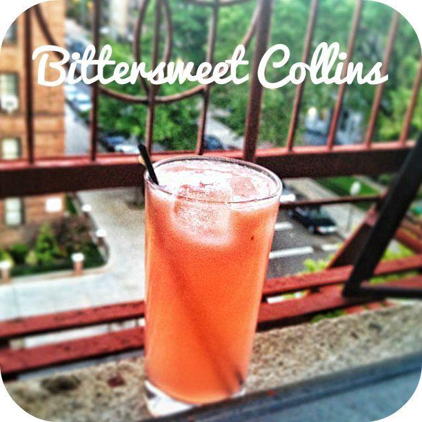 Grapefruit & Gin & Campari, Oh My... | Bit By a Fox Blog Posts | Pint...