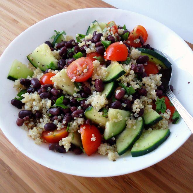 Adzuki bean salad | Healthy Eats | Pinterest