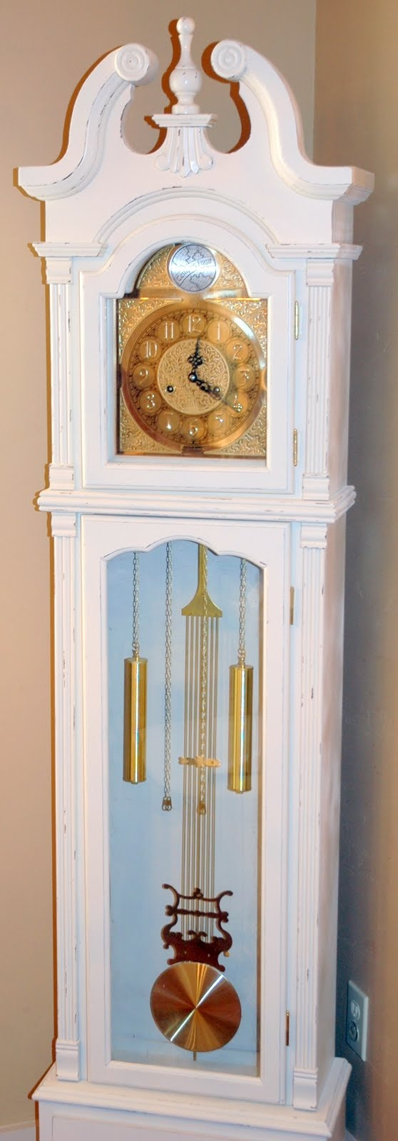 Painted Grandfather Clock Projects Pinterest