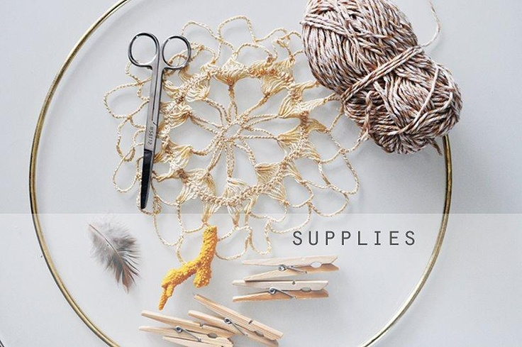 Dream catcher diy d i y inspirations pinterest for How to tie a dreamcatcher web