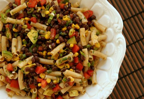 Southwest Pasta Salad with Black Beans & Avocado | Daily Bites ...