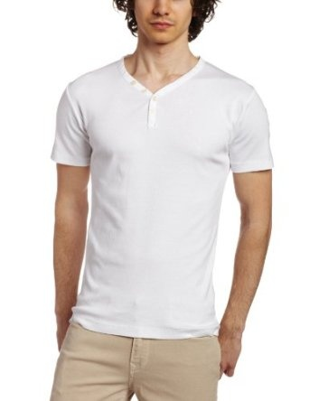 French Connection Men`s V Neck Henley $40.00