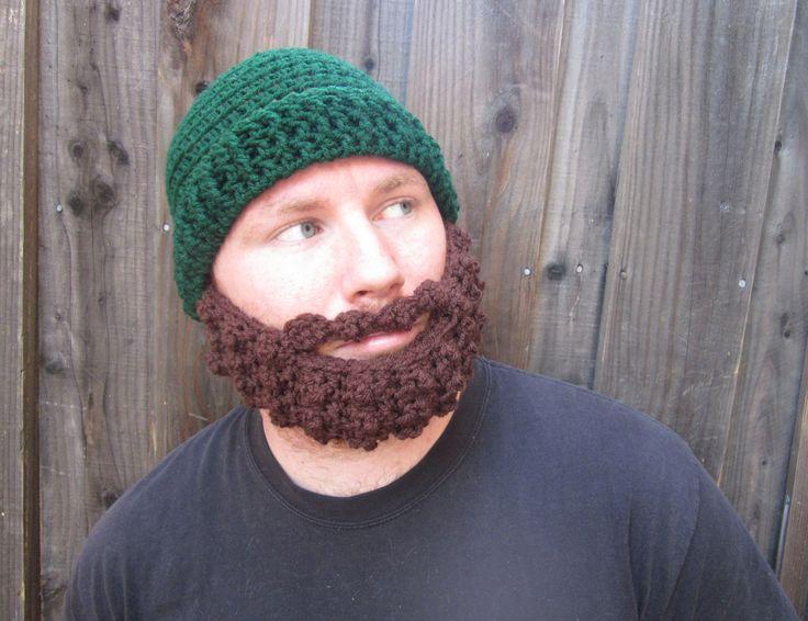 Bearded Hat Knitting Pattern : Pin by Jennifer Goble on Crochet craze Pinterest