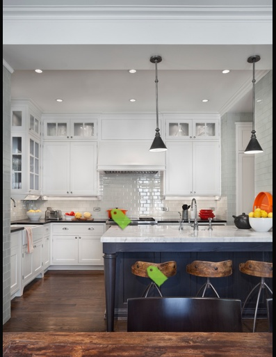 White Kitchen Black Island Design Kitchens Pinterest