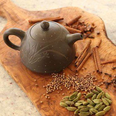 Flavored tea w/ loose leaf and spices | Tea | Pinterest