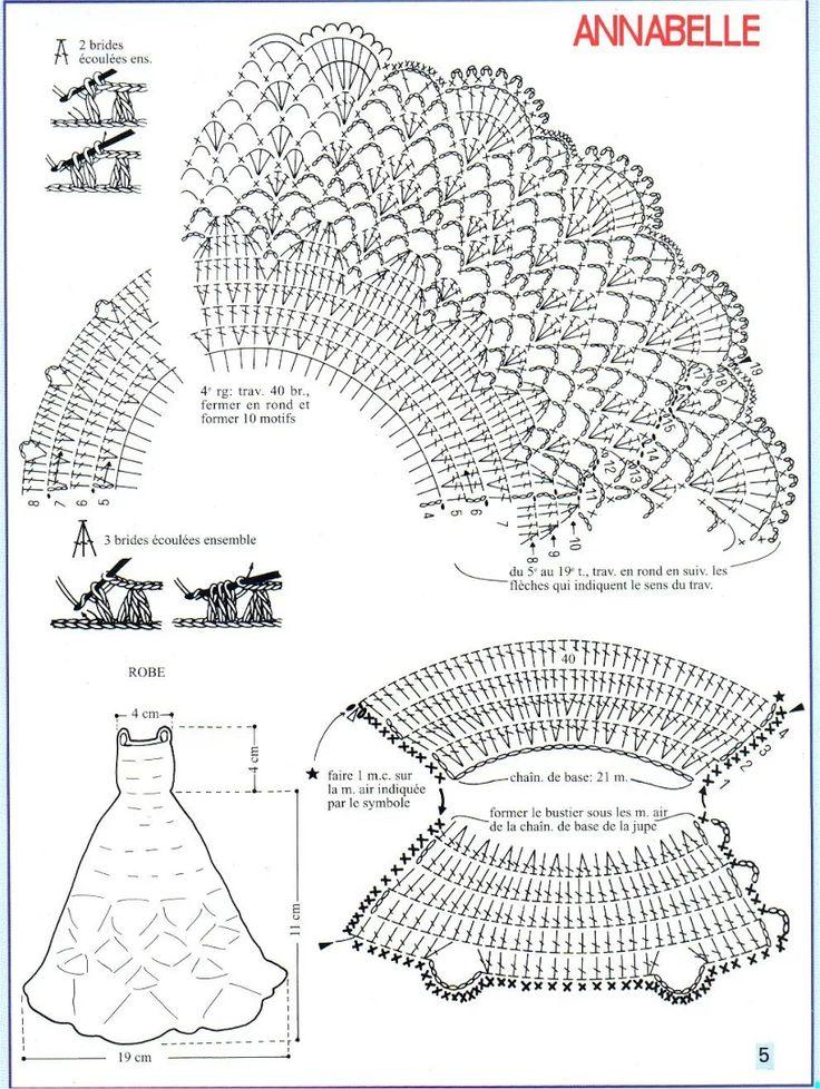 Схема вязание на куколке 385