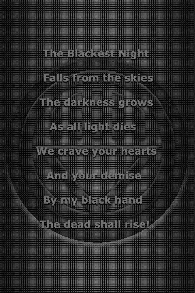 Black lantern oath - photo#1
