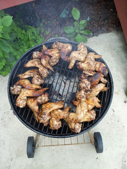 Hickory smoked jerk chicken wings | Wings | Pinterest