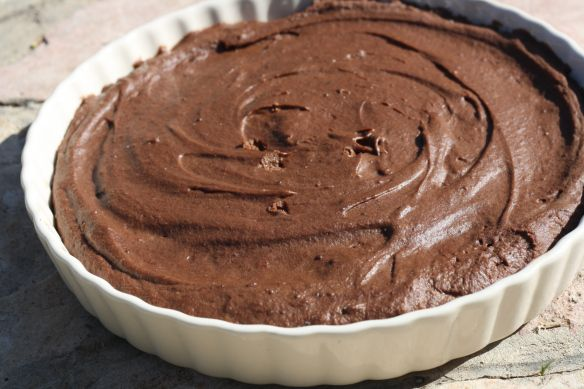 "No-Bake Chocolate Mousse ""Cake"" 