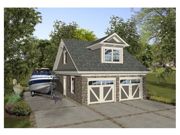 Garage apartment plan 007g 0014 garages pinterest for 2 bedroom garage apartment