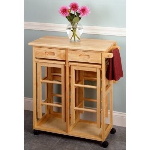 breakfast bar nook space saver portable kitchen island