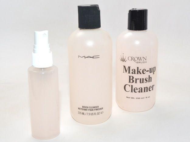 DIY Makeup Brush Cleaner : hair makeup : Pinterest