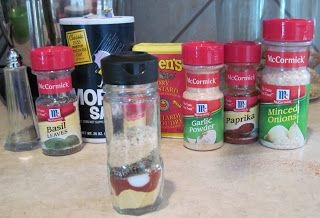 Mum in Bloom ~: From Scratch: McCormick's Meatloaf Seasoning