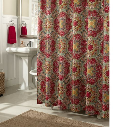 jcpenney shower curtains low wedge sandals. Black Bedroom Furniture Sets. Home Design Ideas