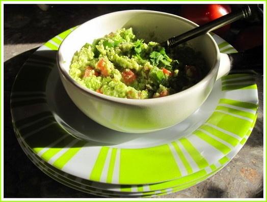nice twist on guacamole! | The Word Magician's Kitchen | Pinterest