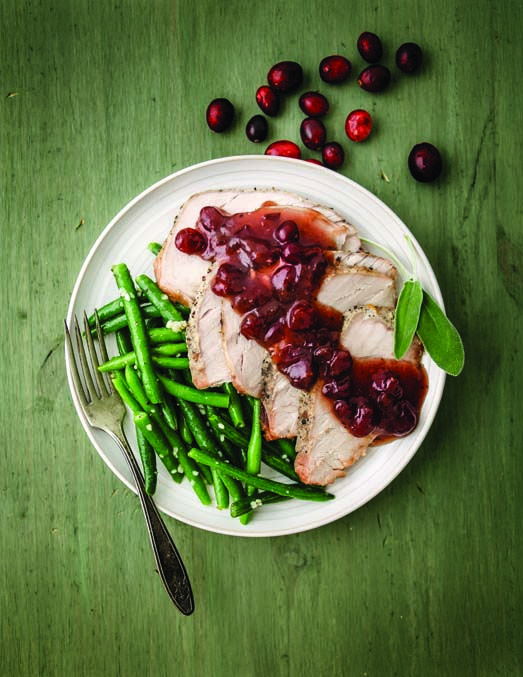 Slow Cooker Cranberry Pork Loin | Get in my belly! | Pinterest