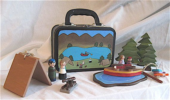 Lunch Box Camper's Toy