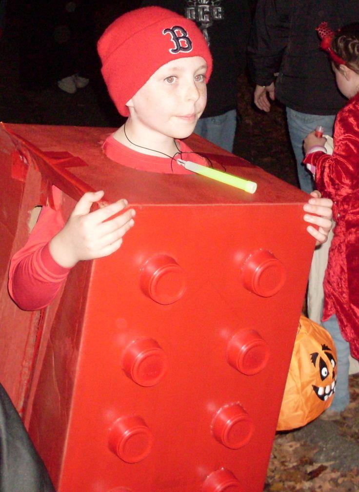 awesome halloween lego block costume spoiler alert an