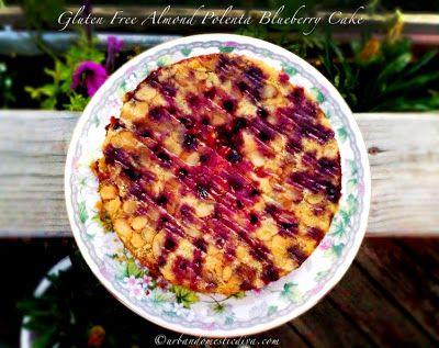 Gluten Free Almond Polenta Blueberry Cake using Bob's Red Mill gluten ...