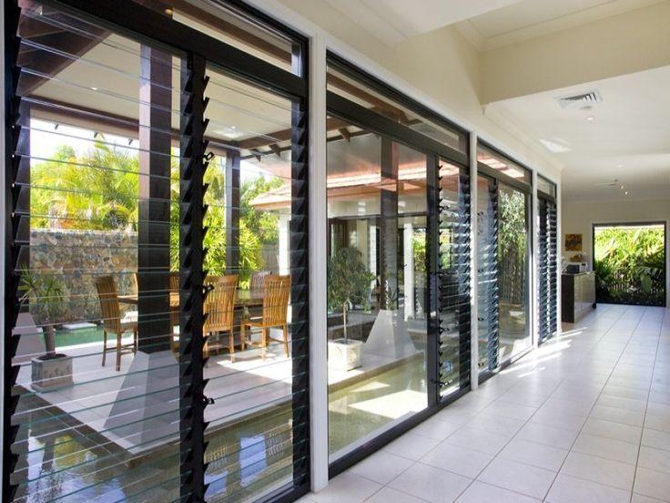 Louver windows architectural details baths kitchens for Jalousie window design
