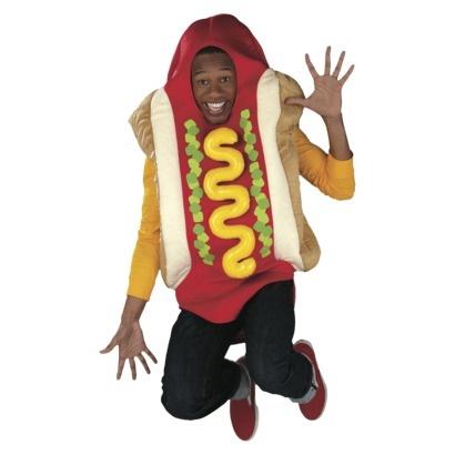 Adult Plush Hot Dog Costume #halloween #costume  Hot Dog Costume