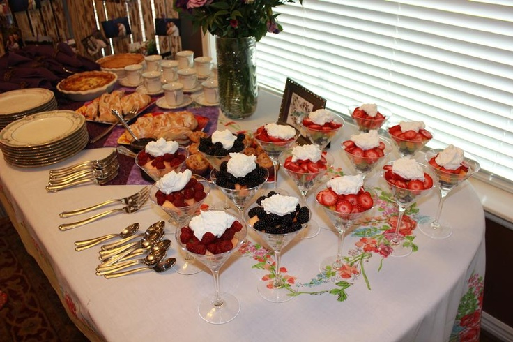 champagne brunch bridal shower blissfully vintage event
