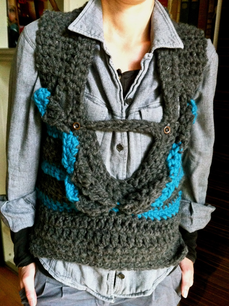 Crocheting Gone Wrong : crochet vest