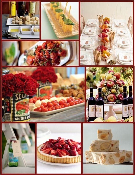 Ideas for an italian themed dinner party