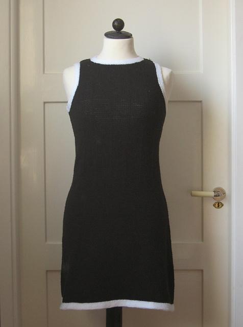 Black and white 60s dress knitting pinterest