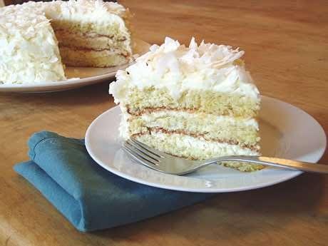 Gluten-Free Coconut Layer Cake | Recipe