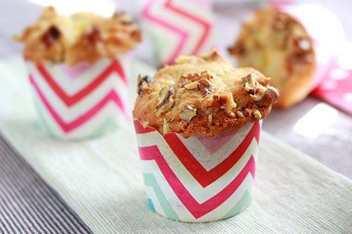 Banana Cream Cheese Muffins | Easy Asian Recipes at RasaMalaysia.com