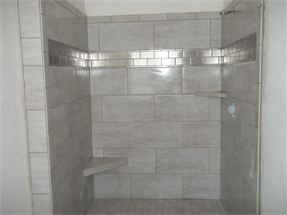 Bathroom tile patterns shower - Pin By Shelly Conkey On Master Bathroom Ideas Pinterest