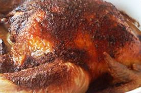 Low Carb Roast Sticky Chicken-Rotisserie Style